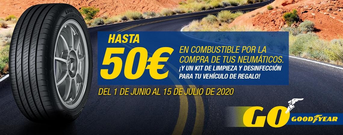 Hasta 50 euros en combustible