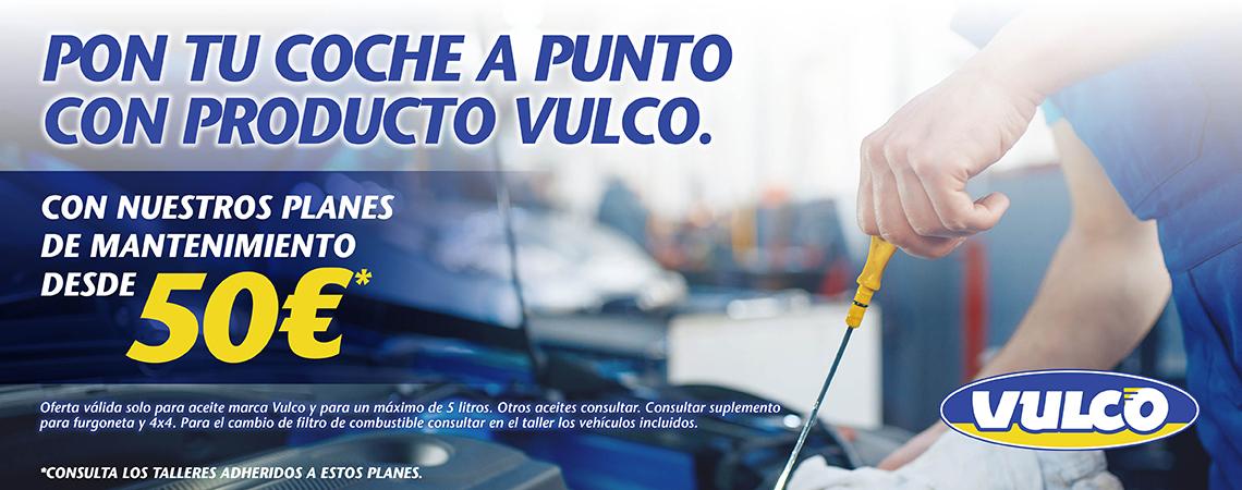 Planes de Mantenimiento Vulco
