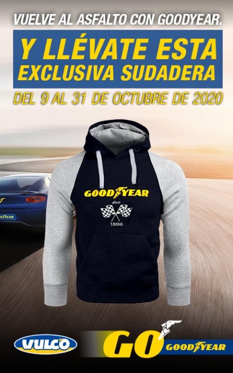 Sudadera Racing Goodyear