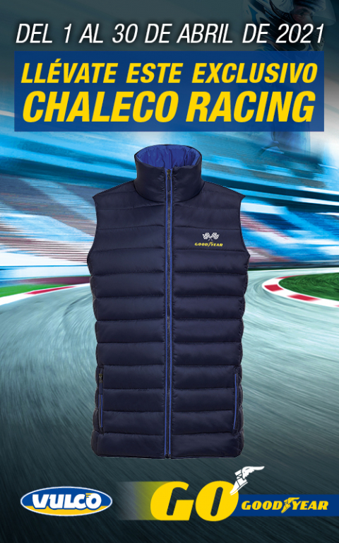 Chaleco Racing Goodyear