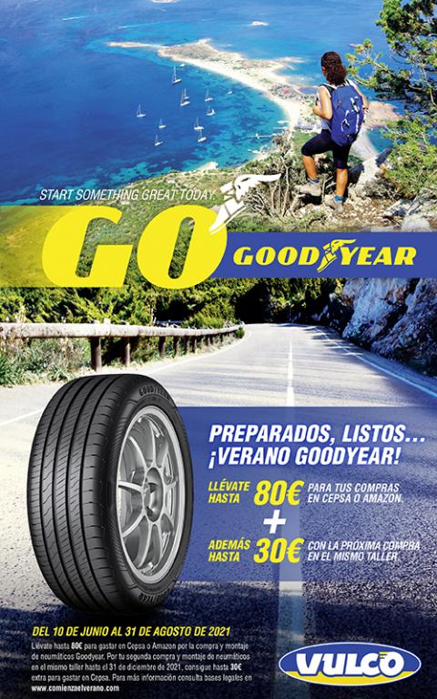 Comienza el verano con Goodyear
