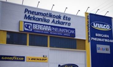 Bergara Pneumatikoak, nuevo taller para la red Vulco