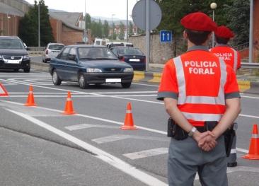 Neumáticos, luces y matrículas, a examen en Navarra