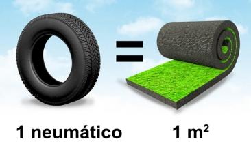 Tus neumáticos te ayudarán a jugar al fútbol