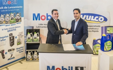 Vulco ofrecerá lubricantes Mobil en sus talleres