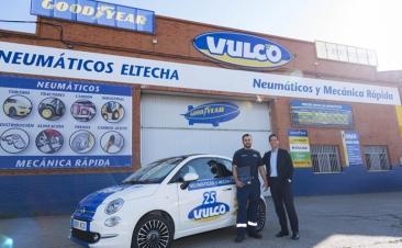 Vulco entrega sus Fiat 500 de sustitución a nuevos talleres