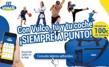 Vulco te regala una bolsa de deporte con su nueva promoción