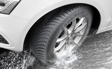 Así te ayudan los neumáticos todo tiempo