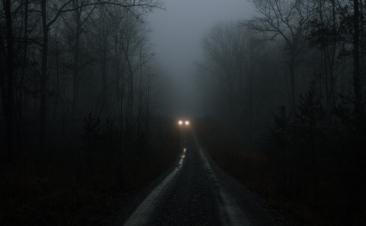 ¿Sabes a qué distancia se ve un coche negro?