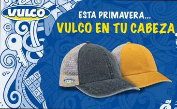 Llévate una exclusiva gorra con Vulco