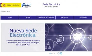 La DGT estrena sede electrónica y es muy interesante