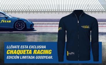 Una exclusiva chaqueta de regalo por comprar neumáticos Goodyear
