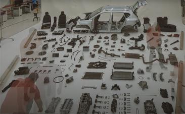 ¿Te gustaría ver cómo quedan las piezas de un coche tras 100.000 km?