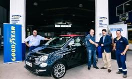 Dos clientes de talleres Vulco ganan coches por cambiar neumáticos Goodyear