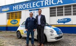 Dos Fiat 500 para conmemorar el 25º aniversario de Vulco