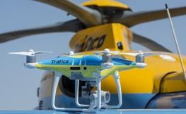 No, los drones de la DGT no te van a multar