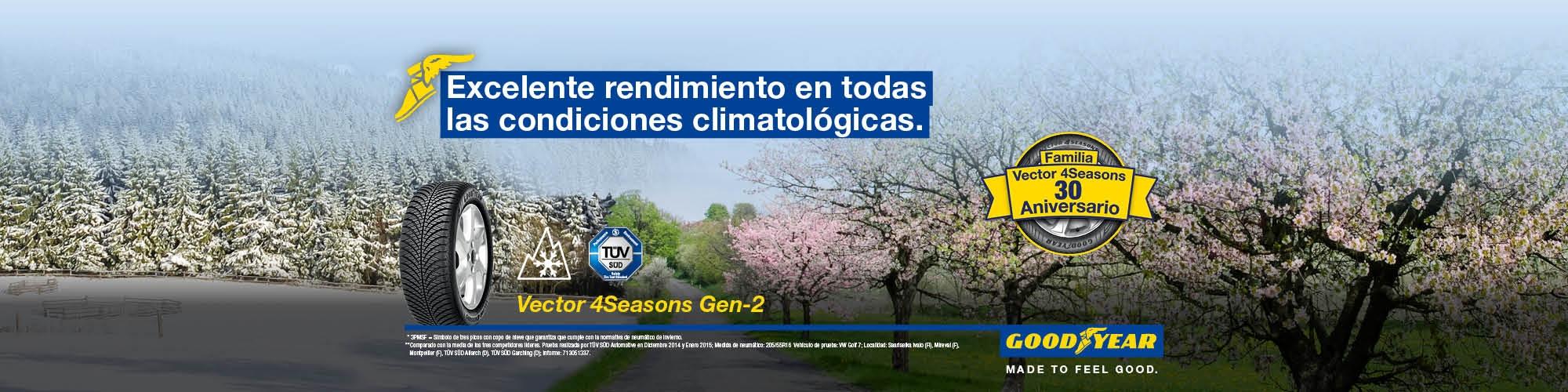 All season - Goodyear Vector 4Seasons Gen-2