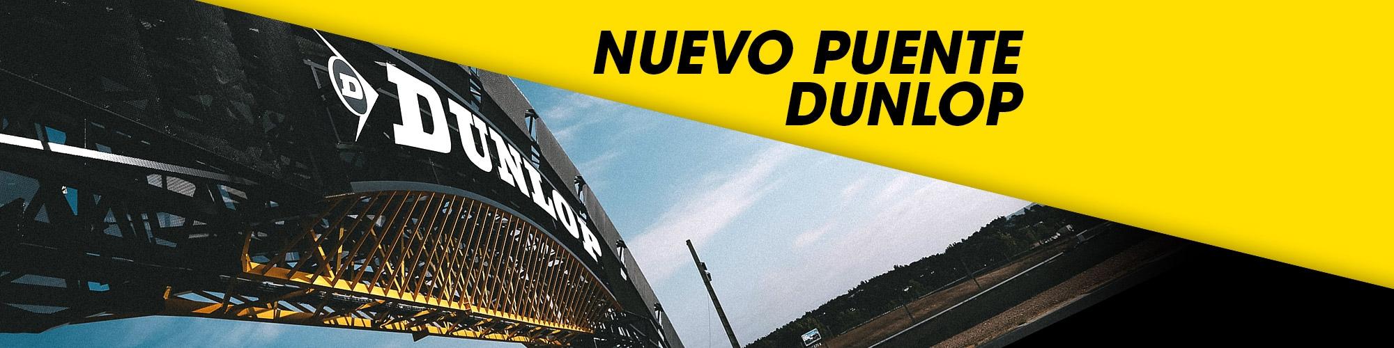 Inauguración del Puente Dunlop del Circuito del Jarama de Madrid