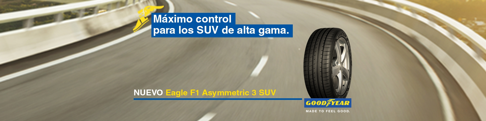 Eagle F1 Asymetric 3 SUV - Goodyear