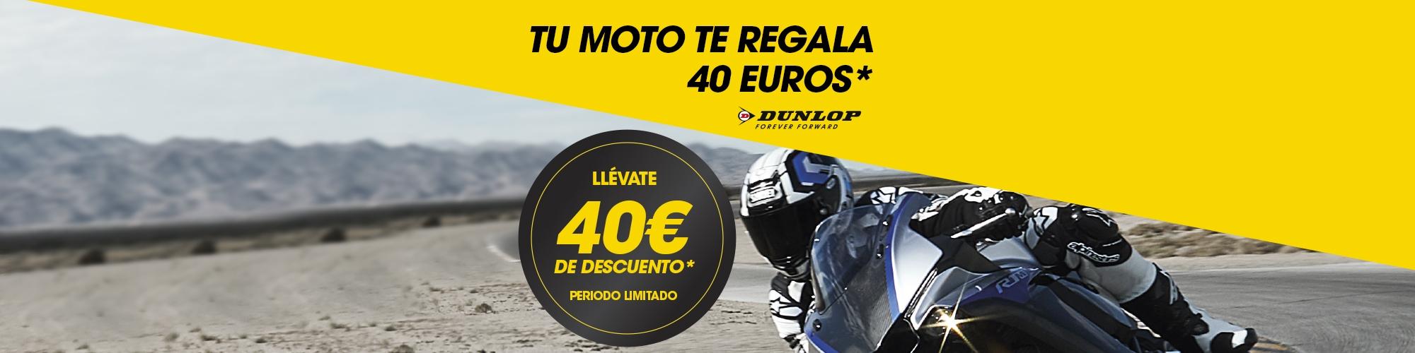 Promo SO de Dunlop Moto