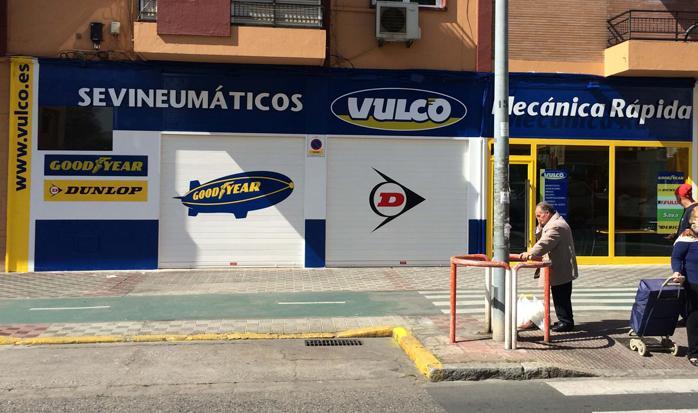 Taller Sevineumáticos Vulco Sevilla