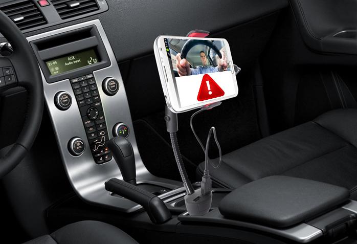 Una app te avisa si conduces agresivamente