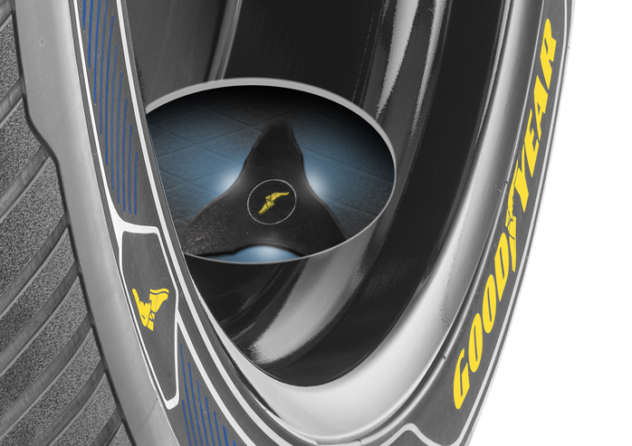Goodyear Intelligrip para coches autónomos