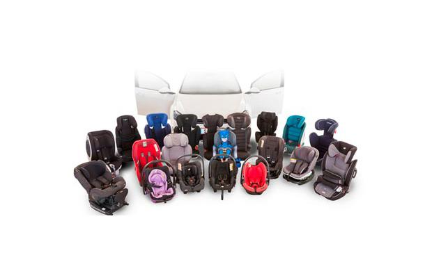 El race examina 32 sillas de coche para ni os red vulco for Sillas infantiles coche
