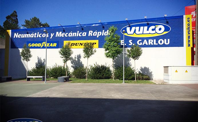 Nueva imagen de E.S. Garlou, taller Vulco en A Coruña
