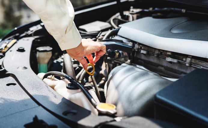 Medir niveles de líquidos en tu coche