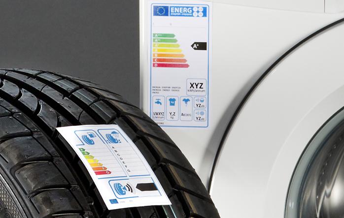La etiqueta europea del neumático es obligatoria desde 2012