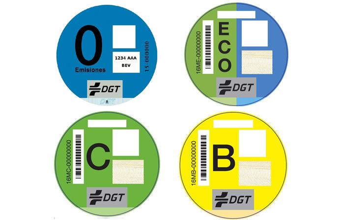 La DGT etiquetará coches según su contaminación