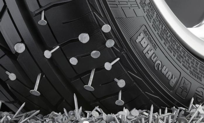 Si tu neumático tiene un clavo, acude a tu taller de confianza